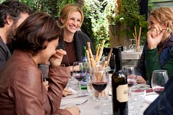 FRANCOIS DUHAMEL / COLUMBIA - FOOD FOR THOUGHT: Julia Roberts in Eat Pray Love