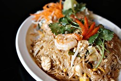 ASHLEY GOODWIN - FORK IT OVER: One of the dishes at Blue Thai Basil