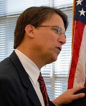 Former Charlotte mayor Pat McCrory