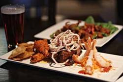 ASHLEY GOODWIN - FOUR SCORE: The savory sampler app dish at Killingtons Restaurant & Pub.