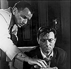 MGM - Frank Sinatra and Laurence Harvey in The - Manchurian Candidate