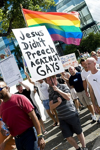 From a 2008 protest in Ft. Lauderdale, Fla.