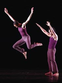 BASIL CHILDERS - Garth Fagan Dance Company performs Saturday at Blumenthal