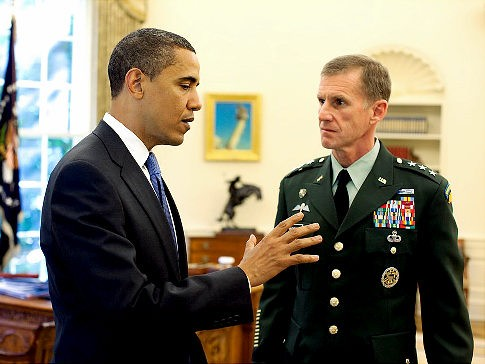 """General, you'll have to kick your McChrystal meth problem somewhere else"""