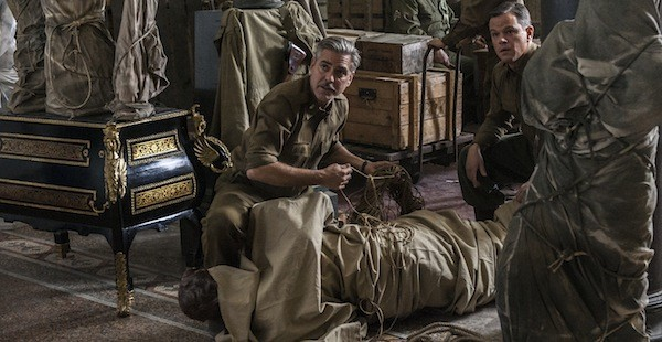 George Clooney and Matt Damon in The Monuments Men (Photo: Sony)