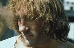 PHOTOS COURTESY OF THE CRITERION COLLECTION - Gerard Depardieu stands alone in Danton.