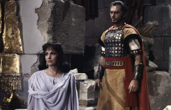 Gina Lollobrigida and Yul Brynner in Solomon and Sheba (Photo: Twilight Time)