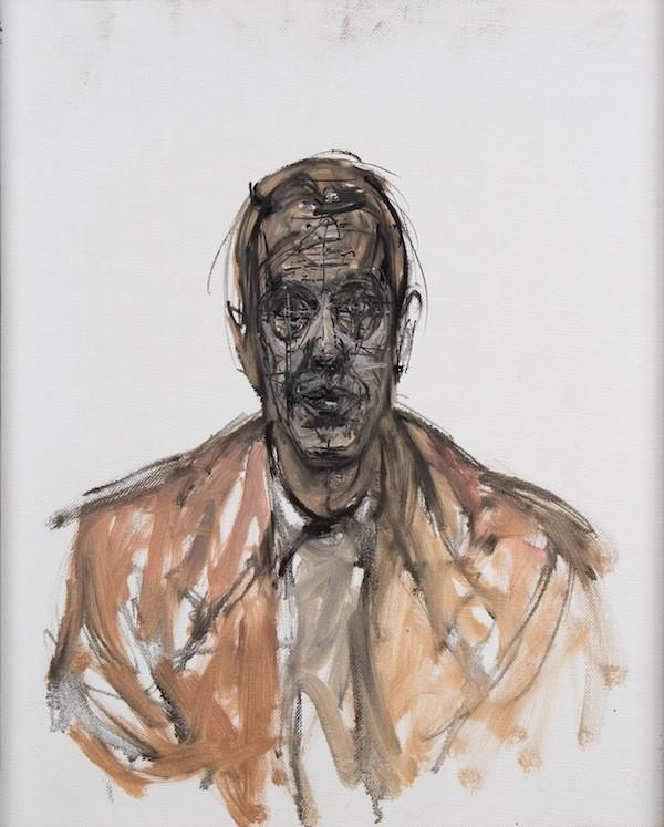 Giorgio Soavi - ALBERTO GIACOMETTI, GIORGIO SOAVI, 1963, OIL ON CANVAS, 54 X 44 CM © ALBERTO GIACOMETTI ESTATE/LICENSED BY VAGA AND ARS, NEW YORK, NY /LICENSED BY VAGA, NEW YORK, NY