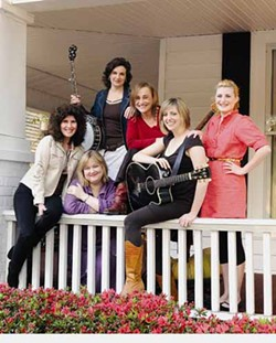 UP & COMING WEEKLY - GIRLS' DAY OUT: (l-r) Liza Vann, Libby Seymour, Cassandra Vallery, Gina Stewart, Pamela Bob and Kendra Goehring are the Good Ol' Girls.