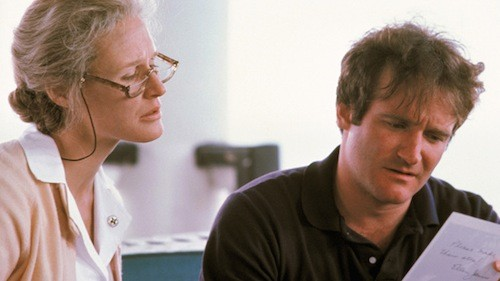 Glenn Close and Williams in The World According to Garp