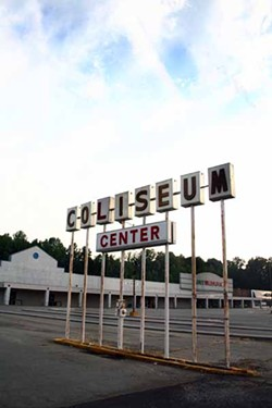 ASHLEY GOODWIN - GLORY DAYS: The once-booming Coliseum Shopping Center