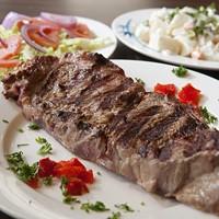 GO MEAT: Grilled steak platter