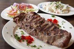 ANGUS LAMOND - GO MEAT: Grilled steak platter
