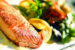 PHOTOS.COM - GOOD FOR YOU, AND TASTY, TOO!: Salmon is one of the recommended 'superfoods.'