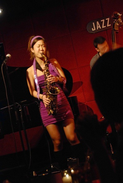 Grace Kelly at The Jazz Standard in New York. Photo credit: Perry Tannenbaum