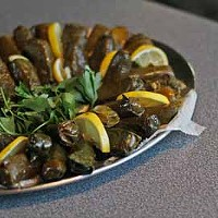 GREAT GRAPE: Stuffed grape leaves