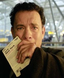 MERRICK MORTON / DREAMWORKS - GROUNDED Tom Hanks in The Terminal