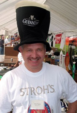 TIMOTHY C. DAVIS - Guinness: Famous for its large, foamy head