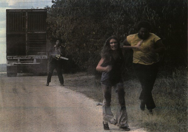 Gunnar Hansen, Marilyn Burns and Ed Guinn