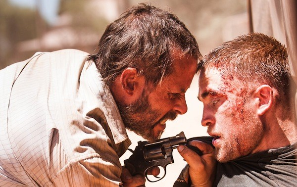 Guy Pearce and Robert Pattinson in The Rover (Photo: A24 Films)