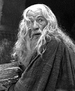 NEW LINE - HAIR APPARENT Ian McKellen takes charge in - The Lord of the Rings: The Fellowship of  the - Ring