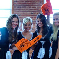 Hardee's 'French maids' visit <em>Creative Loafing</em>