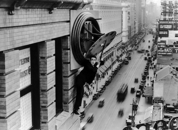 Harold Lloyd in Safety Last! (Photo: Criterion Collection)