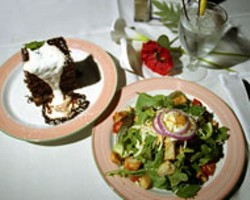 RADOK - Harry & Jean's Chocolate Malt Tower and Fresh - Garden Salad