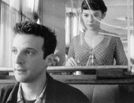 HEAD TURNER Audrey Tautou hopes that Mathieu Kassovitz will notice her in Amelie