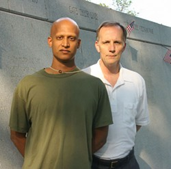 KATIE WILLIAMS - HEALERS: Srikanth Rajagopalan (left) and Brian Staton