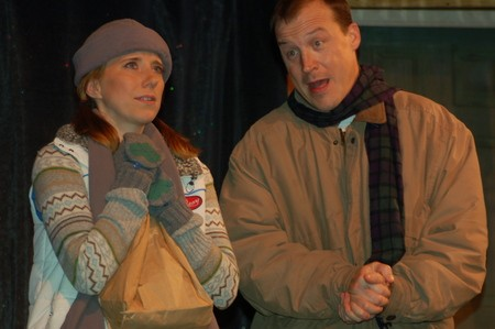 Heather Love and Christian Love in Almost, Maine; Photo by Cindy Rice