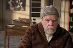 SONY PICTURES CLASSICS - HEAVEN CAN WAIT: Father Luc (the great Michael Lonsdale) tends to earthly matters in Of Gods and Men.
