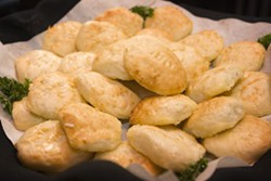 ANGUS LAMOND - HEAVENLY: Angel biscuits from Harper's Blue Ribbon Diner