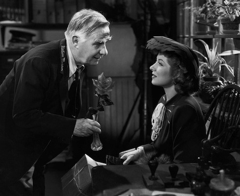 Henry Travers and Greer Garson in Mrs. Miniver (Photo: Warner Bros.)
