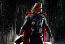 PARAMOUNT & MARVEL - HERO WORSHIP: Chris Hemsworth as Thor