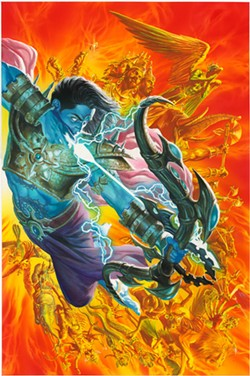 VIRGIN COMICS - HERO WORSHIP: The warrior prince Ramayana in a brand new light.