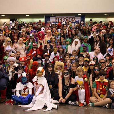 Heroes Con, 6/21/14