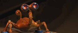ROADSIDE ATTRACTIONS & LIONSGATE - HEY, KIDS, IT'S WALL-E!: Wait, never mind; it's only Giddy (David Cross) from Battle for Terra.