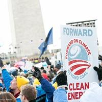 Historic tar-sands action at Obama's door