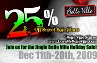Sale of the day: Belle Ville