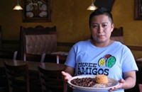 Featured dish: Chicken mole  from Three Amigos