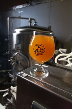 MERT JONES - Holy Moly is just one of six wild ales found at Lenny Boy's taproom.