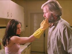 PHIL BRAY / FOX SEARCHLIGHT - HOT FOR TEACHER Professor Berkman (Jeff Daniels) flirts with a student (Anna Paquin) in The Squid and the Whale.