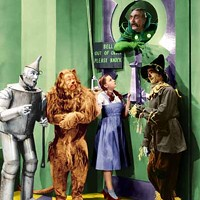 HOUSE CALL: Dorothy (Judy Garland) and friends in The Wizard of Oz.