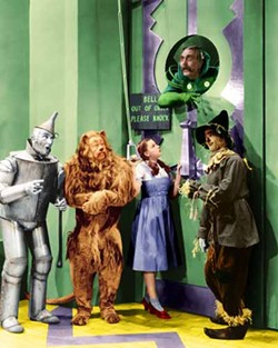 WARNER BROS. - HOUSE CALL: Dorothy (Judy Garland) and friends in The Wizard of Oz.