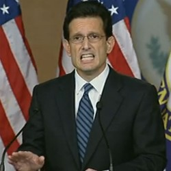 House Majority Leader Eric Cantor: Oh crap, what have we done?