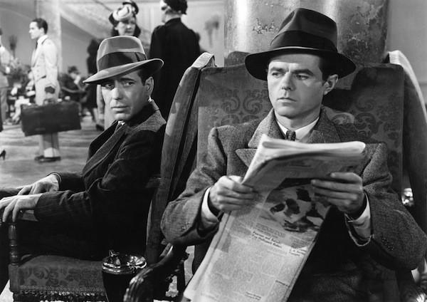 Humphrey Bogart and Elisha Cook, Jr. in The Maltese Falcon (Photo: Warner Bros.)