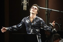 ERIC LIEBOWITZ/PICTUREHOUSE, NUYORICAN & R-CARO PRDNS. - I COME TO BURY HECTOR, NOT TO PRAISE HIM: Marc Anthony as Salsa sensation Hector Lavoe in the limp biopic El Cantante