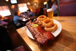 CATALINA KULCZAR-MARIN - I WANT MY BABY BACK: Ribs and onion rings from Jim 'N Nick's Bar-B-Q