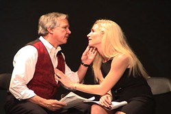 MOVING POETS - IAGO Jerry Colbert and Monica Bell star in staged reading